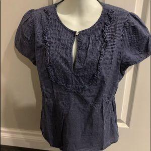J crew Bingham print blouse